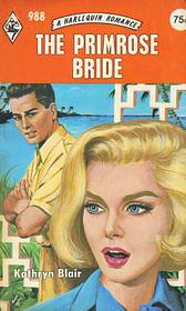 The Primrose Bride (Harlequin Romance, No 988)