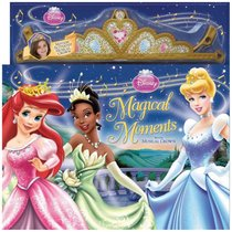 Disney Princess Magical Moments: Storybook with Musical Crown