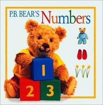 P.B. Bear Board Book: Numbers