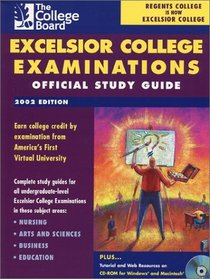 Excelsior College Examinations 2002: Official Study Guide (Excelsior College Examinations)