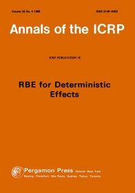 ICRP Publication 58: RBE for Deterministic Effects