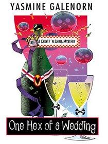 One Hex of a Wedding (Chintz 'n China, Bk 5) (Large Print)