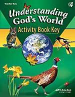 Understanding God's World, Student Activity Book : Teacher Key