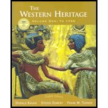 The Western Heritage, Vol. 1: To 1740 - Textbook Only