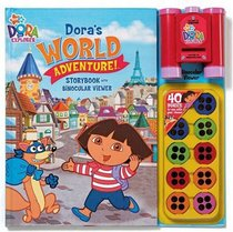 Nick Jr Dora's  World Adventures Storybook and Binocular Viewer (Dora the Explorer)