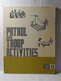 Patrol and Troop Activities