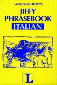 Jiffy Phrasebook Italian: Italian