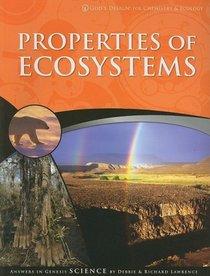Properties of Ecosystems (God's Design)