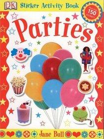 Parties (Jane Bull Sticker Activity Bk)