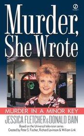 Murder in a Minor Key (Murder, She Wrote, Bk 16)