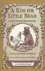 A Kiss for Little Bear Book and Tape (I Can Read Book 1)