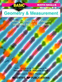 Geometry and Measurement: Math Skills : Grades 4-5 (Basic, Not Boring  4 to 5)