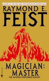 Magician: Master (Riftwar Saga, Bk 2)
