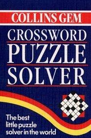 Crossword Puzzle Solver (Collins Gem)