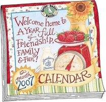 Gooseberry Patch 2007 Wall Calendar