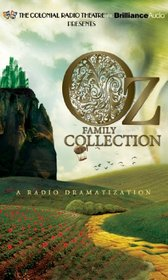 Oz Family Collection: The Wonderful Wizard of Oz, The Marvelous Land of Oz, Ozma of Oz, Dorothy and the Wizard in Oz, The Road to Oz, The Emerald City of Oz