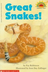Great Snakes! (Hello Reader, Science L2)