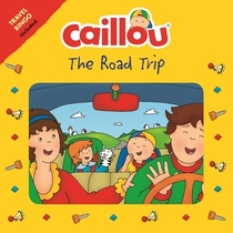 Caillou The Road Trip: Travel Bingo Game included (Playtime)