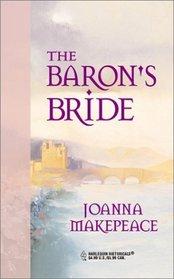 The Baron's Bride (Harlequin Historical, No 84)