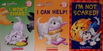 Noodles 3-Pack: I'm Not Scared/I Can Help/I Won't Share (Scholastic Reader Level 1)