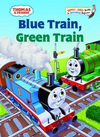 Blue Train, Green Train (Bright & Early Books(R))