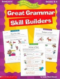 Ready-to-Go Reproducibles: Great Grammar Skill Builders (Grades 4-5)