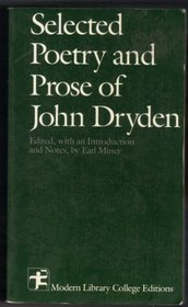 Selected Writings of Dryden