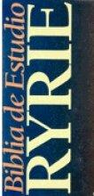 Biblia De Estudio Ryrie, Piel Roja/Ryrie Study Bible, Black Leather