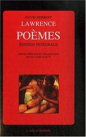 Po�mes : Edition int�grale. Noces de braise, Soleil hostile, Les feux de l'ombre.