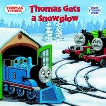 Thomas Gets a Snowplow (Pictureback(R))