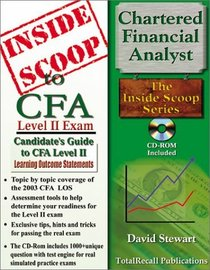 InsideScoop to Chartered Financial Analyst (CFA) Level II (With CD-ROM Exam)