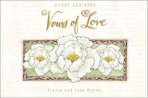 Vows of Love: Wedding Guest Register (Vows of Love)