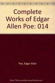 Complete Works of Edgar Allen Poe: 014