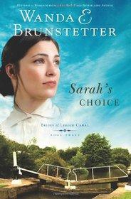 Sarah's Choice (Brides of Lehigh Canal, Bk 3)