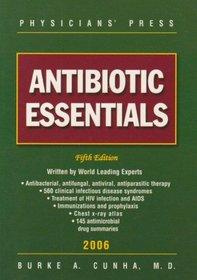 Antibiotic Essentials, 2006