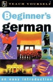 Teach Yourself Beginner's German, New Edition