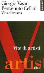 Vies d'artistes (�dition bilingue, fran�ais-italien)