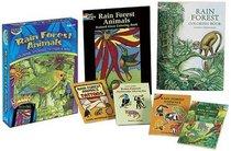 Rain Forest Animals Fun Kit (Boxed Sets/Bindups)