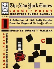 New York Times Large Type Crossword Puzzle Omnibus, Volume I (NY Times)
