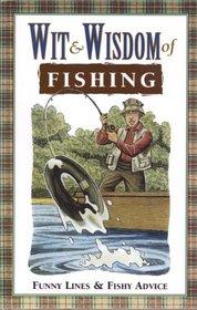 Wit  wisdom of fishing