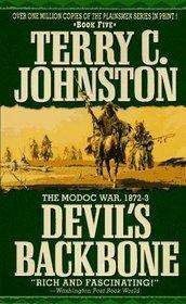 Devil's Backbone: The Modoc War, 1872-3 (Plainsmen, Bk 5)