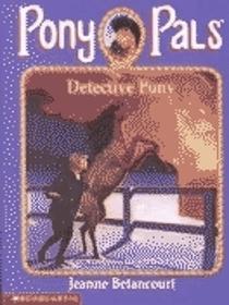 Detective Pony (Pony Pals)