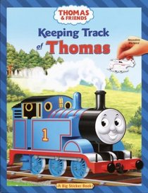 Keeping Track of Thomas (Reusable Sticker Book)