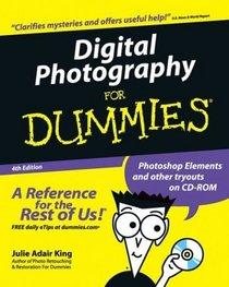 Digital Photography for Dummies, Fourth Edition