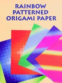 Rainbow Patterned Origami Papers