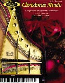 Adult Piano Christmas Music (Adult Piano Series)