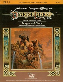 Dragons of Glory: Dragonlance Supermodule, Dl11 (Advanced Dungeons & Dragons)