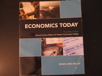 Economics Today The Micro View Second Custom Edition for Nassau Community College