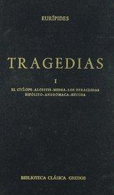 Tragedias Euripides: El Ciclope. Alcestis. Medea. Los Heraclidas. Hipolito. Andromaca. Hecuba (Biblioteca Clasica Gredos)