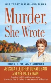 Line, and Murder (Murder, She Wrote, Bk 46)
